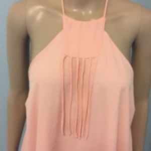 Lucy Love Tops - Sexy peach halter top